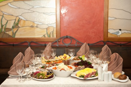 Ресторан Марко Поло. Фото банкетных залов.