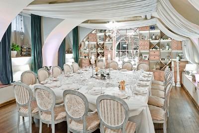 Ресторан Legran. Каталог Фото банкетных залов.