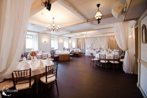 Свадебный ресторан Весенний. Фото банкетных залов.