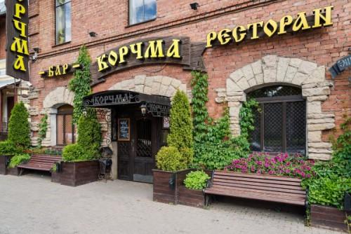 Ресторан Корчма на пр.Энгельса 83 Банкет от 2000 руб/ч. Фото банкетных залов.