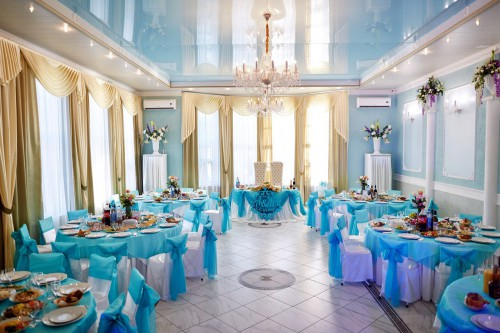 Марьяж Холл. Фото банкетных залов.