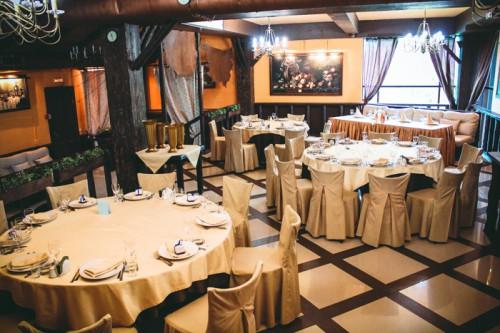 Ресторан Баден Баден. Фото банкетных залов.